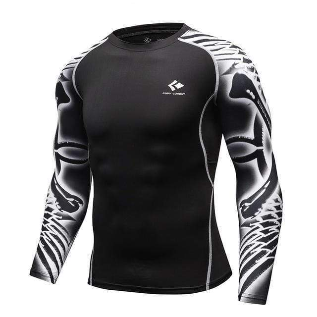 Compression Bodybuilding Long Sleeves Shirt - HIIT gear