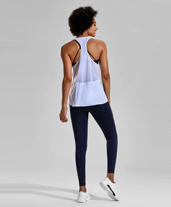 Lightweight Mesh Racerback Workout Tank - HIIT gear