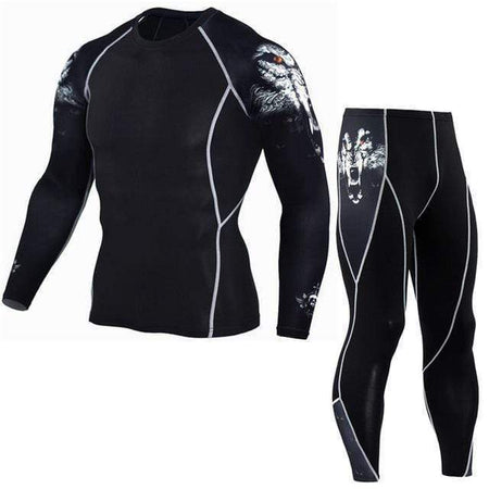 Men's Compression Run Suits - HIIT gear