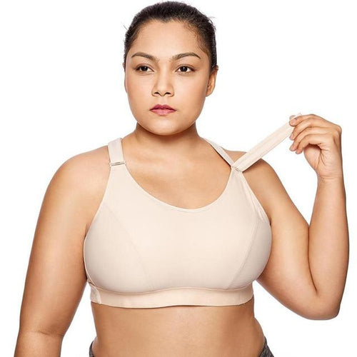 Plus Size Adjustable Sports Bra - HIIT gear