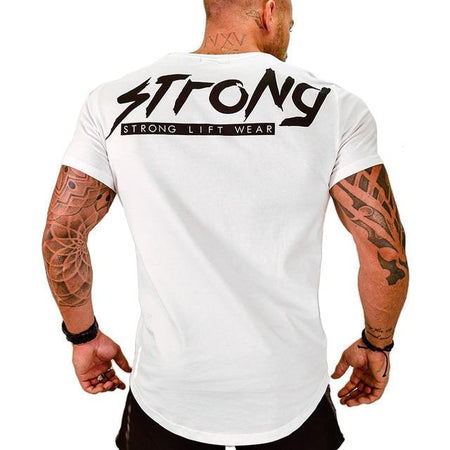 Strong Workout T-Shirt - HIIT gear