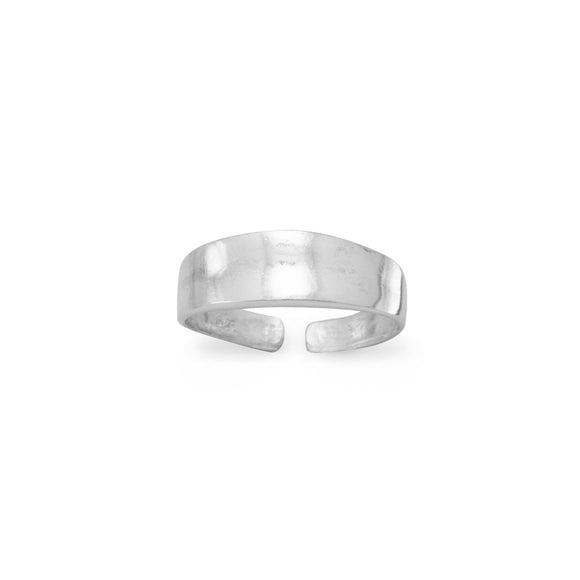 Graduated Polished Toe Ring