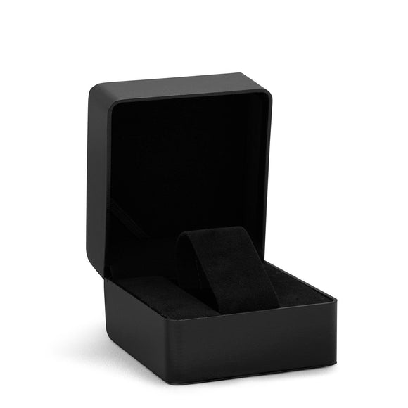 Black Leather Watch Box