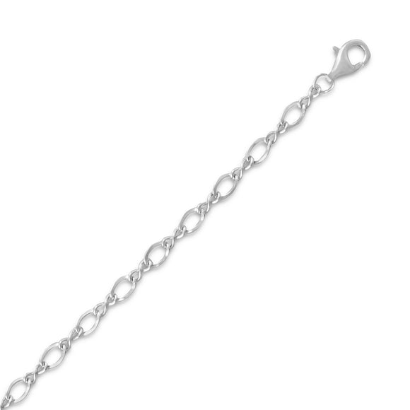 Oxidized Figure 8 Chain (3mm)