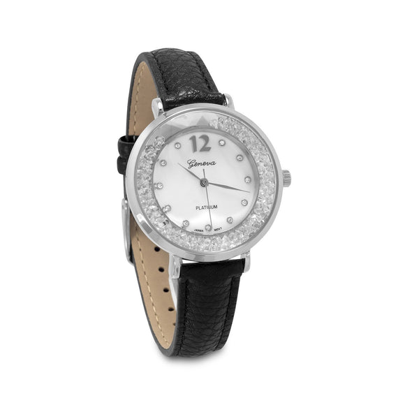 Dancing CZ Fashion Watch