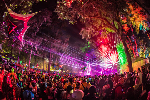 Hulaween Hippie Styled Rave Music Festival