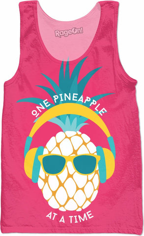 One Pineapple at a Time Tank Top