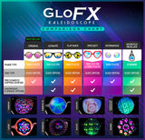 Original Rainbow Kaleidoscope Glasses by GloFX
