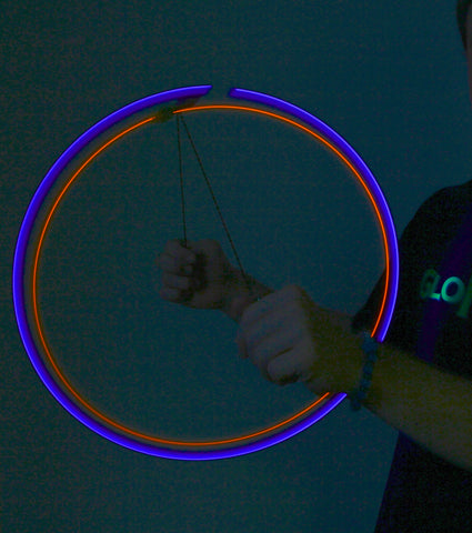 GloFX 2-LED Orbit flow toy visual effects