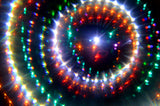 trippy visual effects of wormhole kaleidoscope glasses
