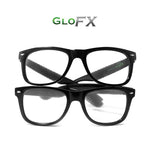 GloFX Heart Effect Diffraction Glasses