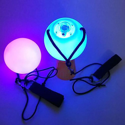 LED poi flow toy