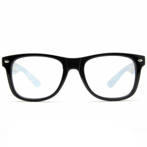 GloFX Diffraction Glasses are made with flexible pvc frames