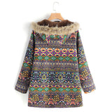 hippie clothing - baja coat