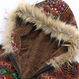 faux fur hippie clothing