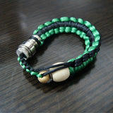green and black bracelet pipe