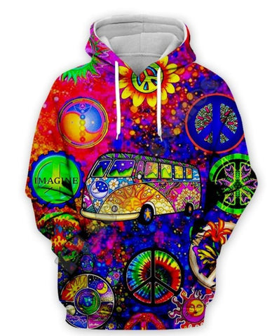Simply Hippie Imagine Hoodie