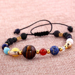 The Celestial Eight Planets Galaxy Bracelet