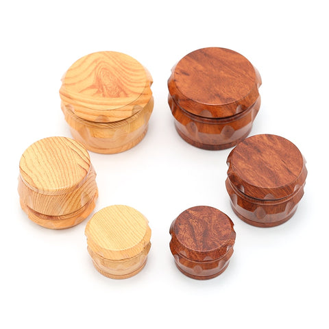 Classic Wood Style Acrylic Grinder