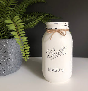 Ball® Quart size regular mouth mason jar