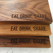 Eat Drink Share board