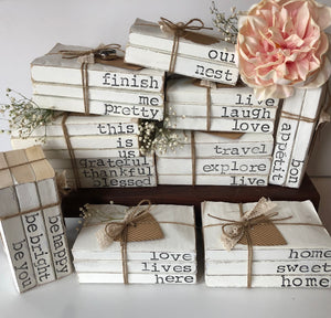 Stamped Books Sets