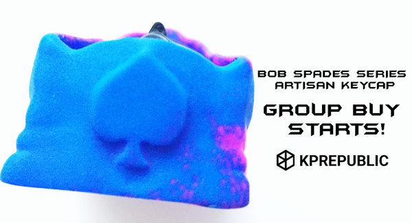 BoB Spades Series Keycap Group Buy Starts!