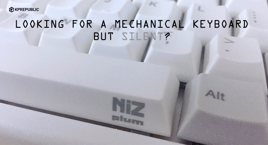 Finally find a mechanical keyboard good for the office people