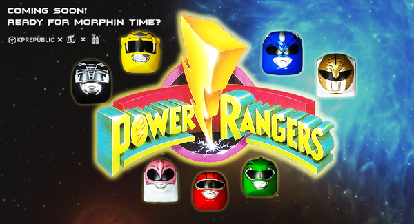 Are you ready for Morphin' Time, Power Rangers?
