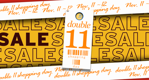 Winter is coming! The First Sale is ON! Doulbe 11 shopping day