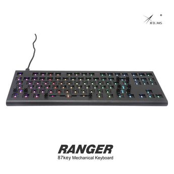 xbows Ranger Mechanical keyboard 87 key 80% rgb type c hot swappable