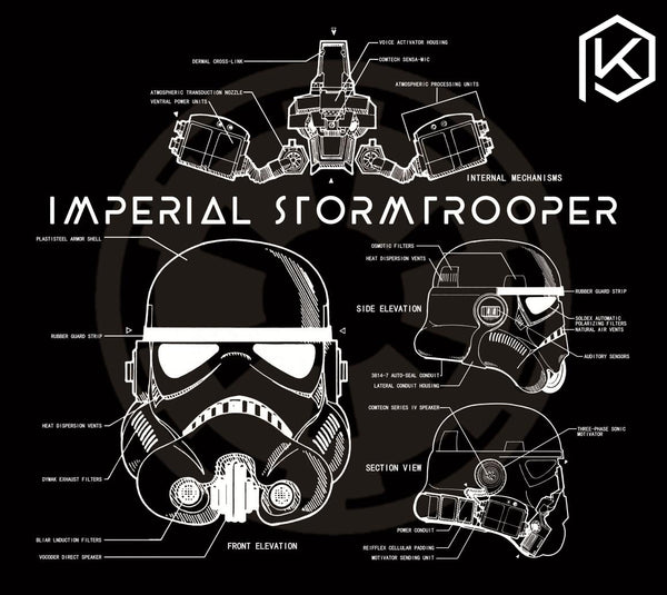 [PreOrder]Mechanical keyboard Mousepad storm trooper  450*400*4 mm Non-Stitched Edges Soft/Rubber Highquality