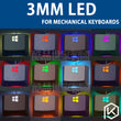 Mechanical keyboard special LED lamp bulb 3mm Round endless 14 colors optional white ice blue green red yellow purple
