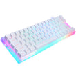 Womier 66 key hot swappable full RGB Custom Mechanical Keyboard