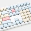 Cherry profile Dye Sub Front Print Keycap Set thick PBT baby dream beige light blue red colorway gh60 xd64 xd84 xd96 tada68