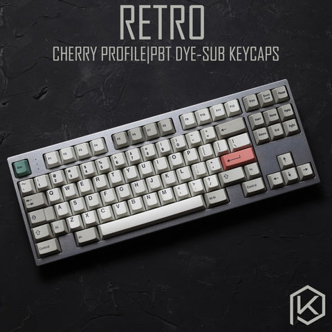 9009 colorway 169 Cherry profile Dye Sub Keycap Set thick PBT plastic keyboard gh60 xd60 xd84 cospad tada68 rs96 zz96 87 104 660 - KPrepublic