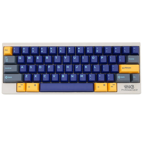 Domikey hhkb abs doubleshot keycap set Atlantis blue hhkb profile for topre stem