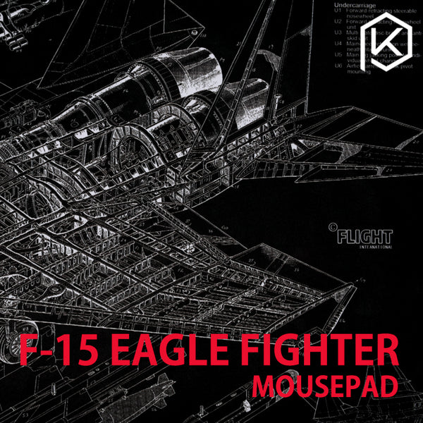 Mechaincal keyboard mouse mousepad McDonnell Douglas F-15 Eagle Fighter 900 400 4 mm non Stitched Edges Soft/Rubber High quality