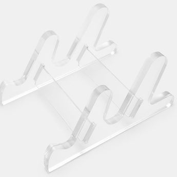 MSTONE ACRYLIC S1 KEYBOARD STAND Translucent 3 piece construction