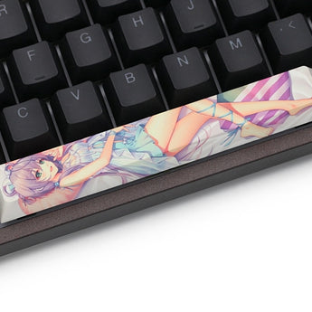 Novelty allover dye subbed Keycaps spacebar pbt  Luo Tianyi ルオ・テンイ 洛天依