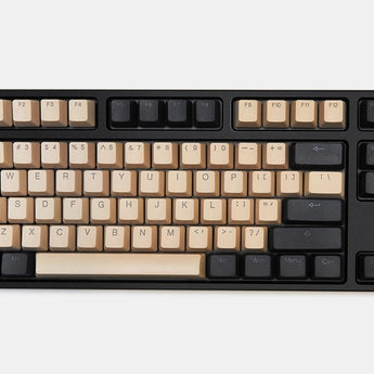 taihao pbt doubleshot keycaps for diy gaming mechanical keyboard Backlit oem profile grey dark blue beige