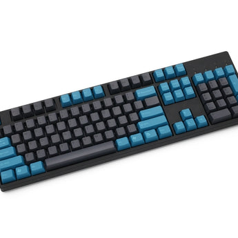 taihao abs double shot keycaps for diy gaming mechanical keyboard blue grey colour