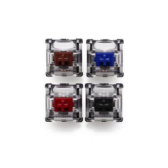 gateron optical switch red black brown blue custom mechanical keyboard sk64 sk61 sk68 sk84