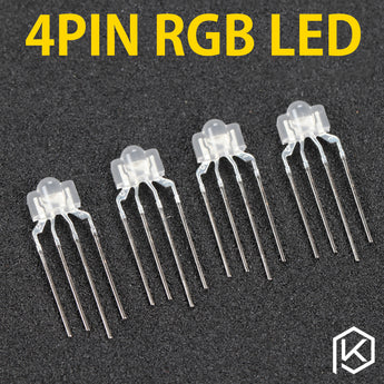 4pin rgb leds Diffused rgb led for mechanical keyboard such as keycool 87 104 108 71 rgb light