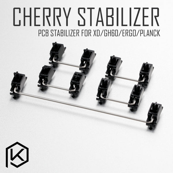 Black cherry original PCB Stabilizers for Custom Mechanical Keyboard gh60 xd64 xd60 xd84 eepw84 tada68 zz96 6.25x 2x 7x rs96 87
