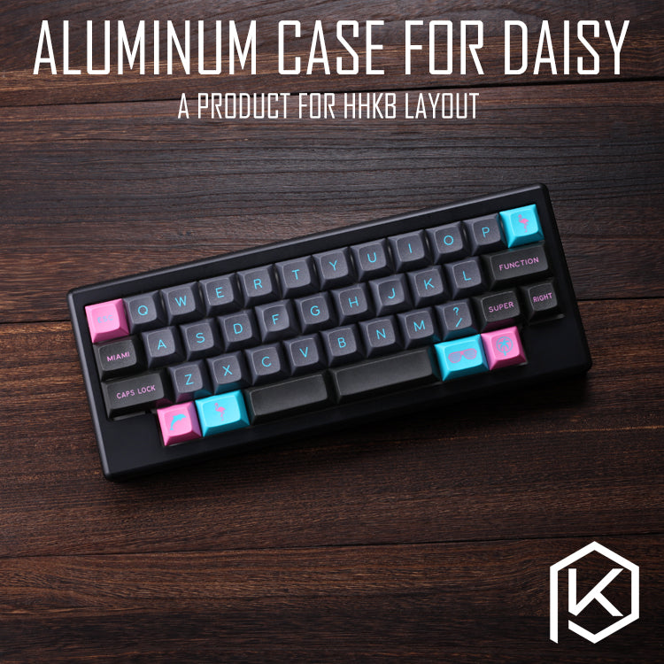 Anodized Aluminium Case For Daisy 40 Hhkb Layout Custom Keyboard