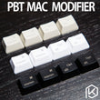 PBT laser Keycaps mac Keys in OEM Profile With Cherry MX Stems command option