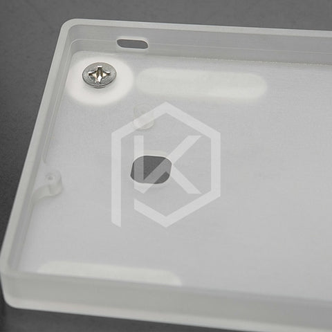 60% Lipless Acrylic Case for gh60 xd60 xd64 poker poker2 pokerII poker3 pokerIII - KPrepublic