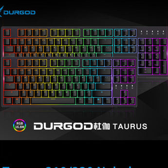 durgod 87 104 320 310 Nebula rgb mechanical lighting keyboard cherry mx pbt doubleshot brown blue black silent red silver