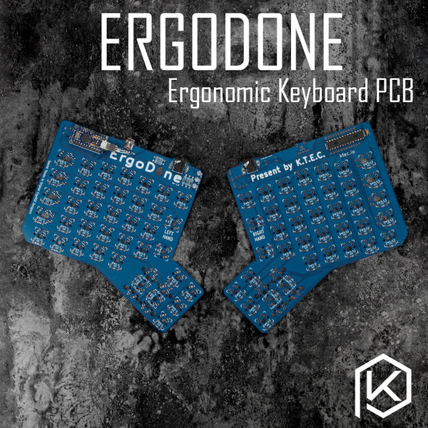 ergodone ergo Custom Mechanical Keyboard TKG-TOOLS PCB programmed Ergonomic Keyboard Kit similar with infinity ergodox